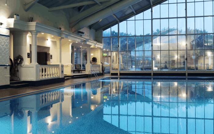 image of swimming pool at liverpool hotel