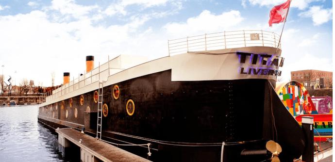 titanic liverpool house boat