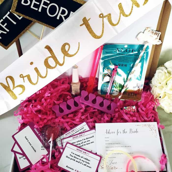 letterbox hen party pack